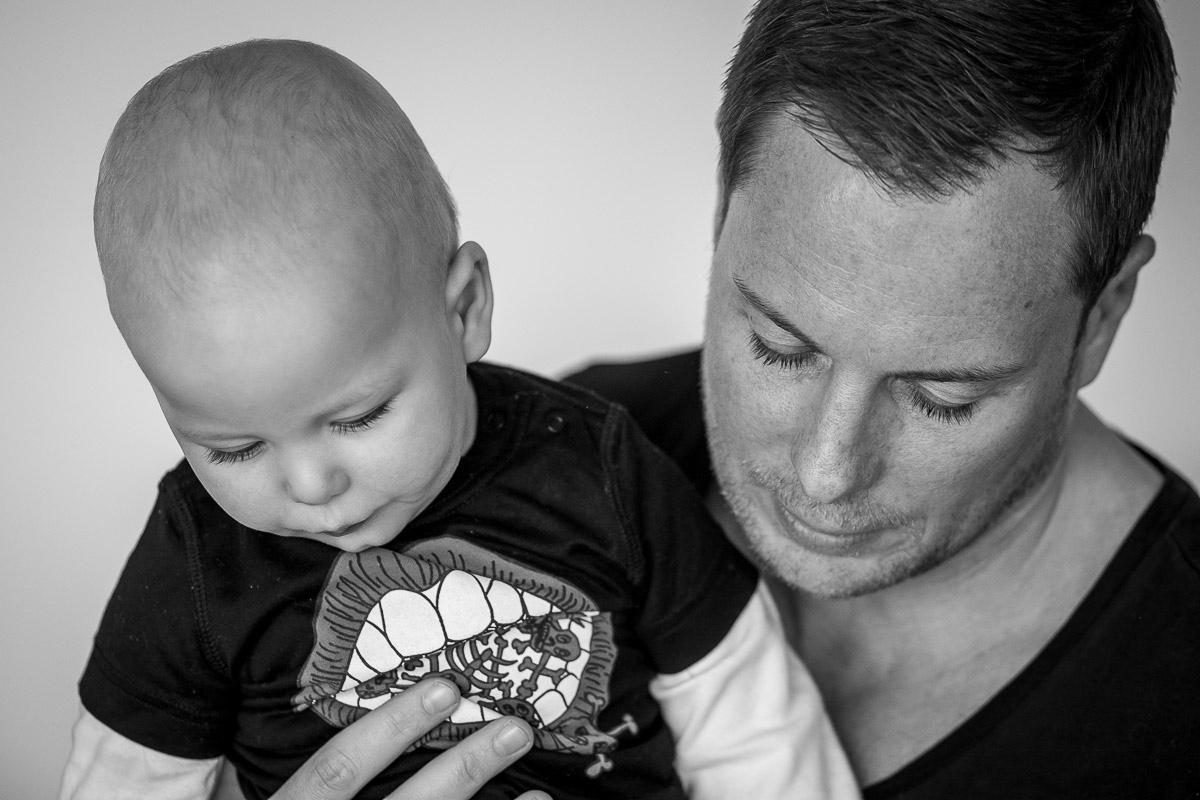 Vater und Sohn als TeilDay in a Life Familienreportage Solingen