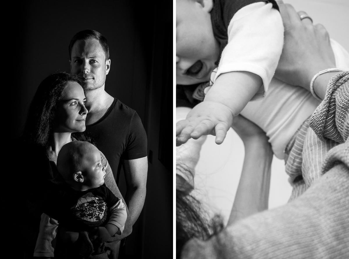 Familienfotos zuhause mit Kinderfotografin Solingen