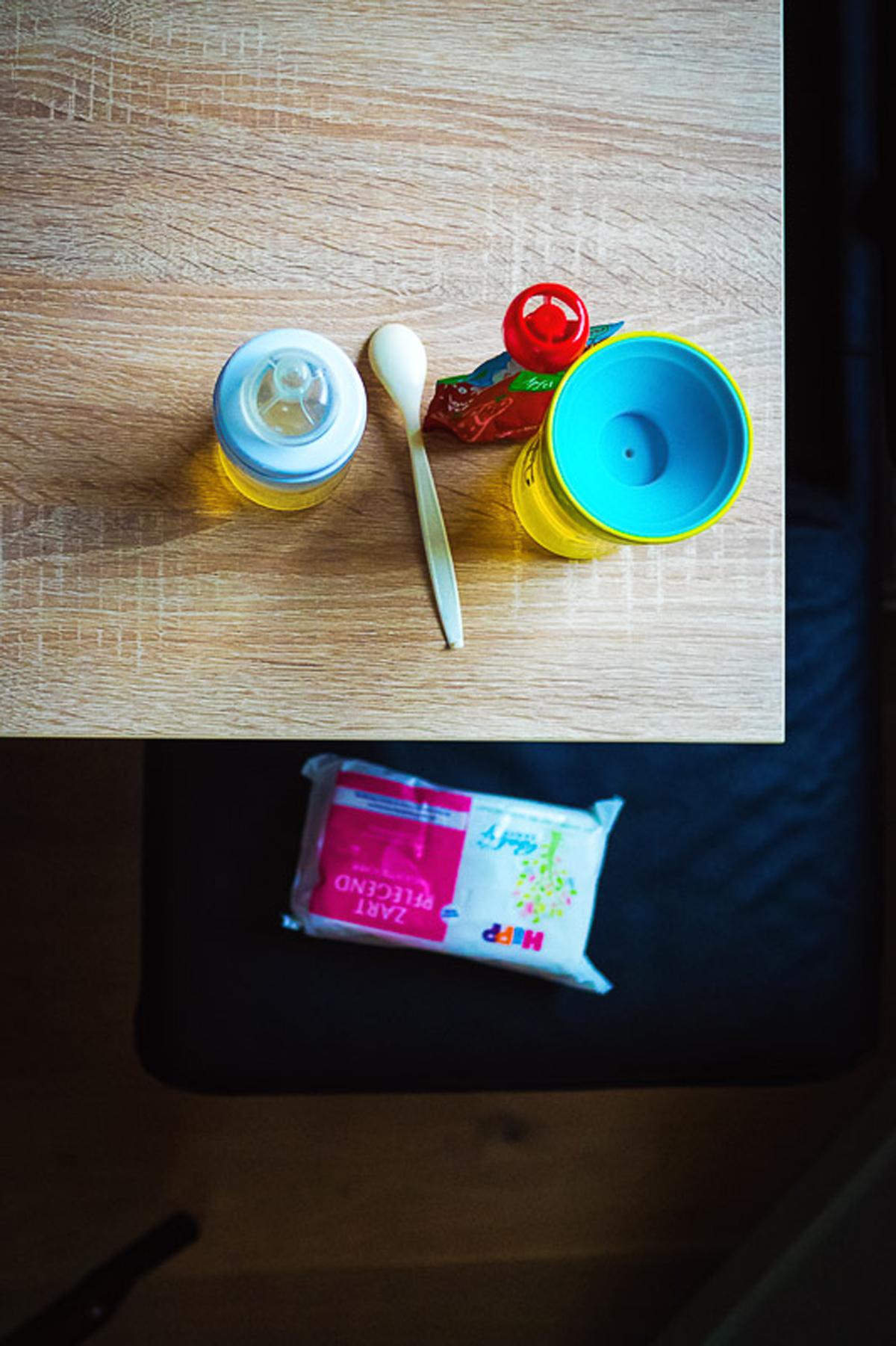 Kindermahlzeit als Teil Familienreportage Solingen