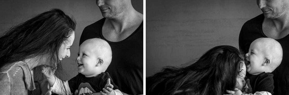 Moderne Familienfotos im eigenen Zuhause Solingen