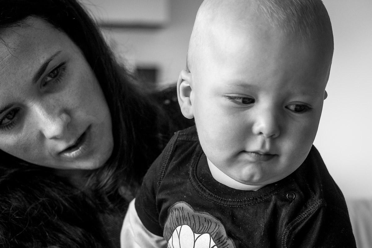 Kinderporträts zuhause mit Kinderfotografin Solingen