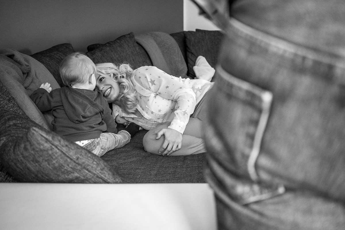 Kinderfotograf Solingen mit Mutter und Kind