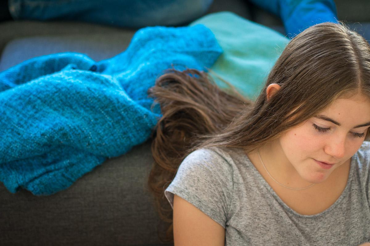Junges Mädchen als natürliches Kinderfoto Wuppertal