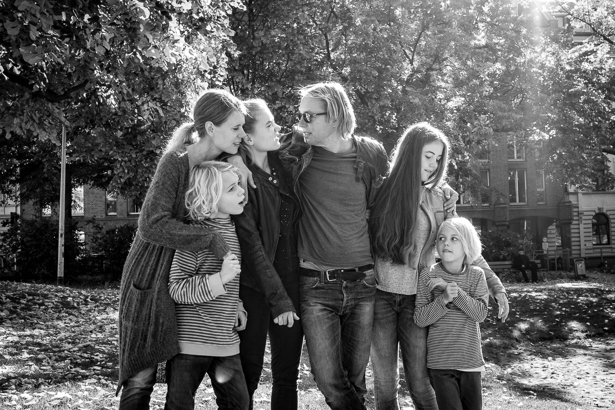 Day in a Life Familienfotografin Gruppenfoto