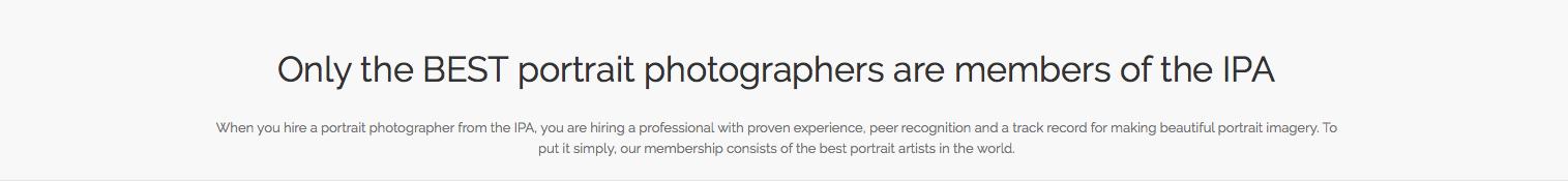 Organisation der weltweit besten Familienfotografen