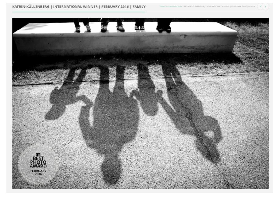 Fotopreis für beste Familienfotografie