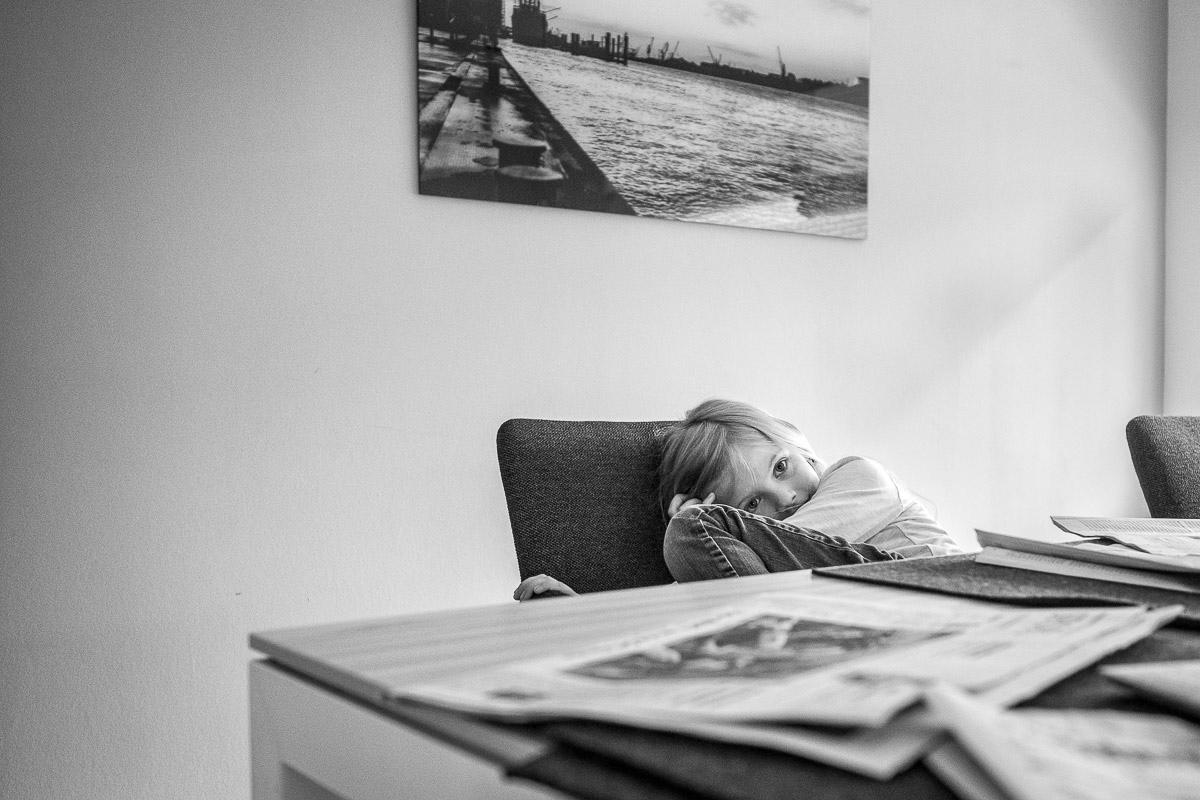 Moderne Familienfotos im eigenen Zuhause Düsseldorf