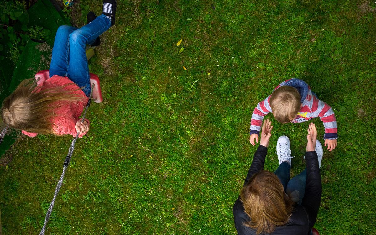 Paula, Luisa und Anton