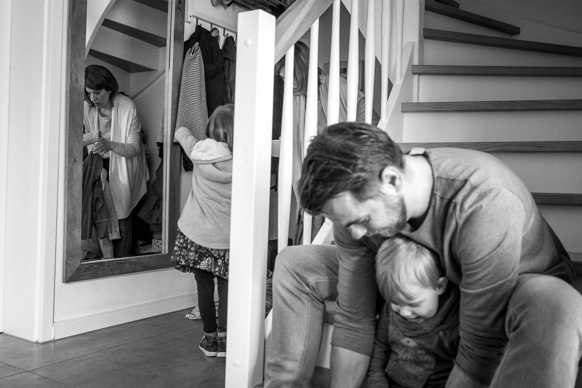 Interessante Familienfotos zuhause Düsseldorf