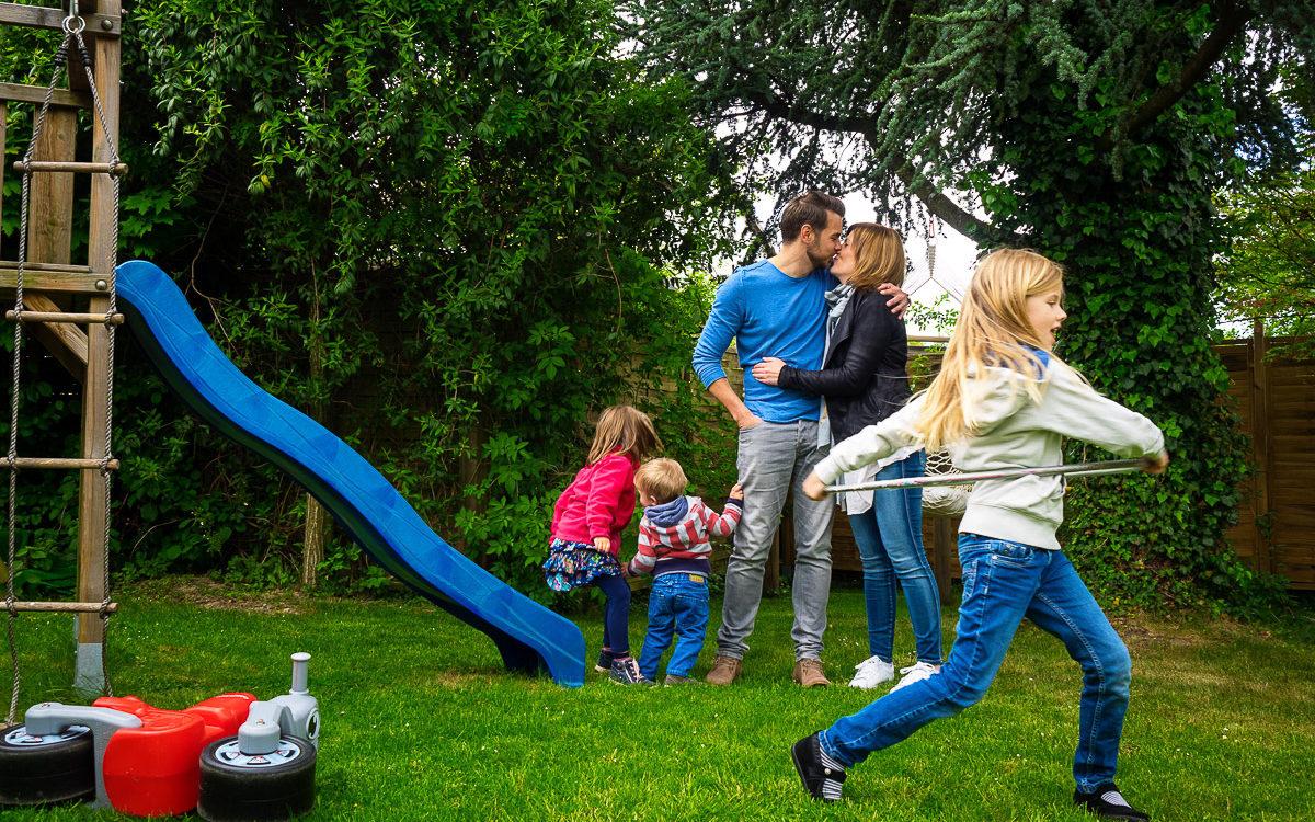 Eine kleine Großfamilie - Familienfotografin NRW