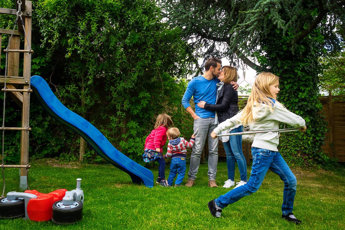 Eine kleine Großfamilie – Familienfotografin NRW