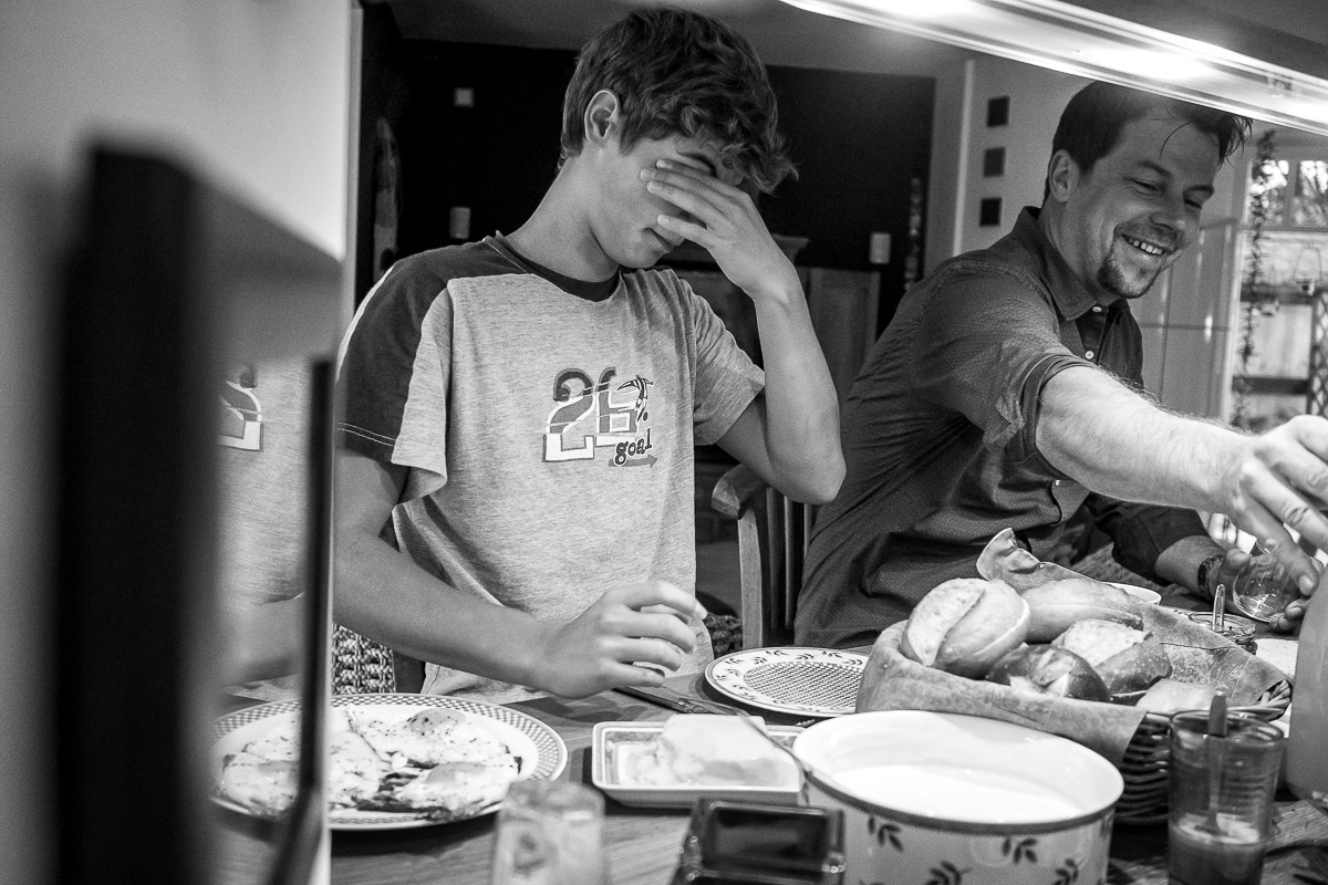 Day in a life Familienreportage