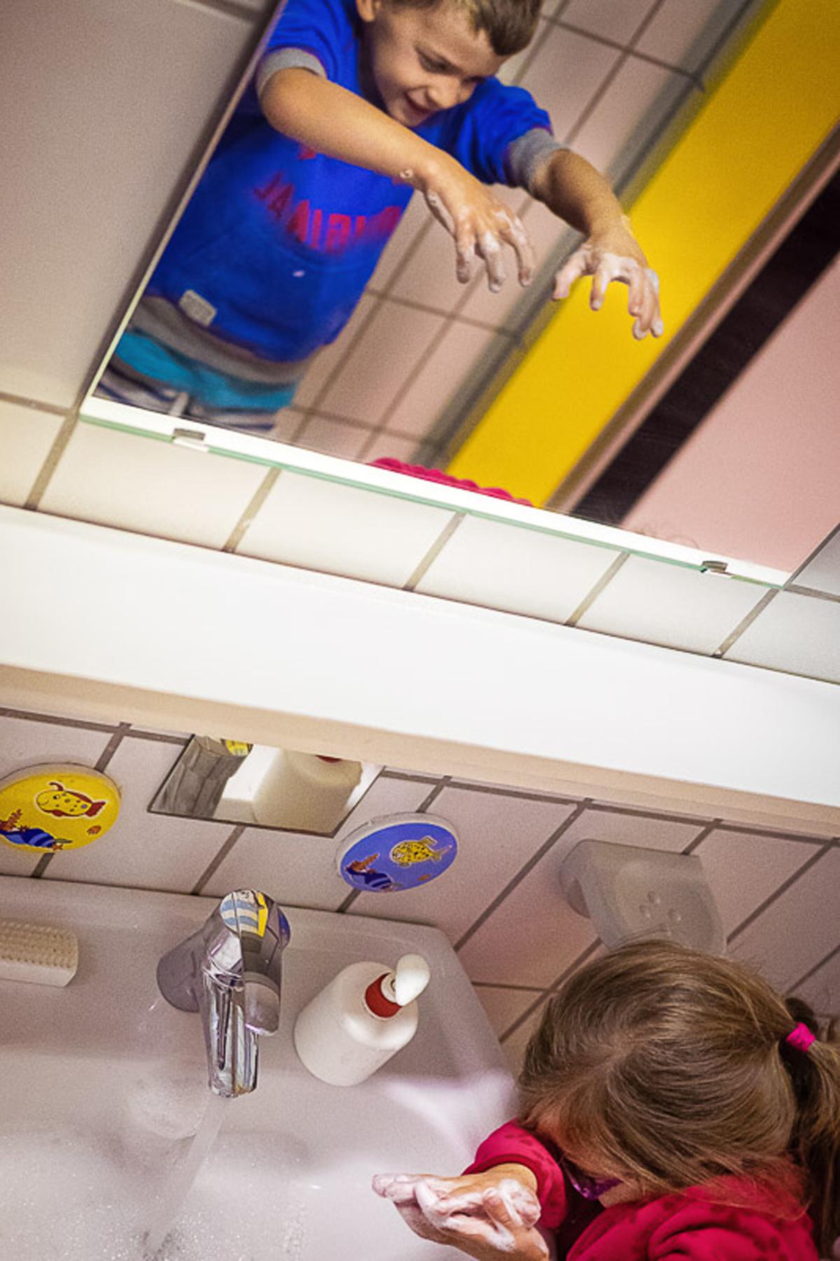 Fotos im Kindergarten Familienfotograf