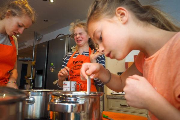Familienfotos Kochen