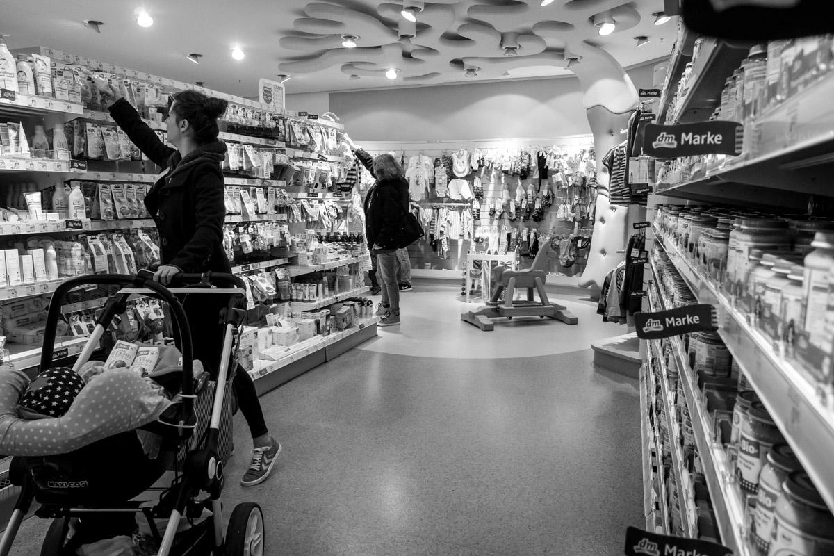 Einkaufen mit Baby Day in the Life