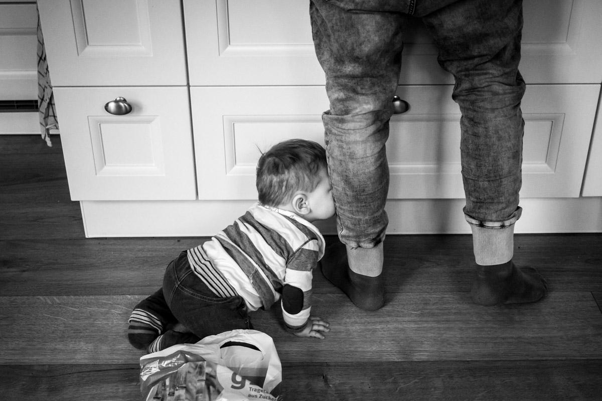 Professionelle Kinderfotos im eigenen Zuhause