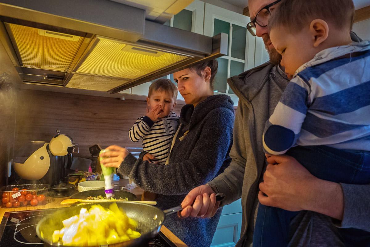 Familienfotos mit zwei Jungen Solingen