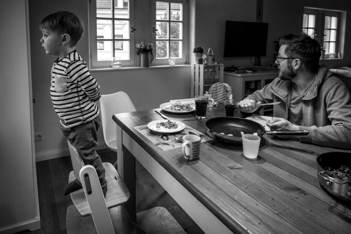 Authentische Familienreportage im eigenen Zuhause