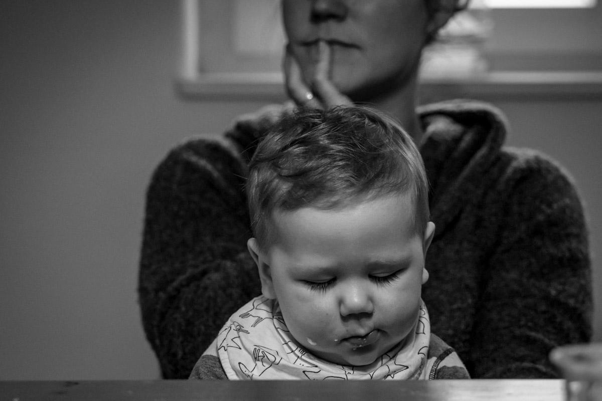 Familienfotografie mit Baby