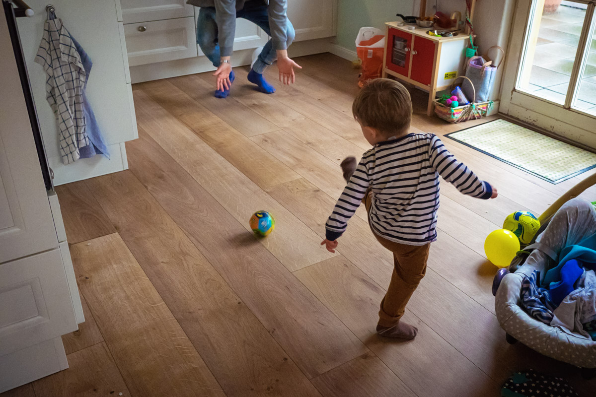 Day in the Life Familienreportage Vater und Sohn