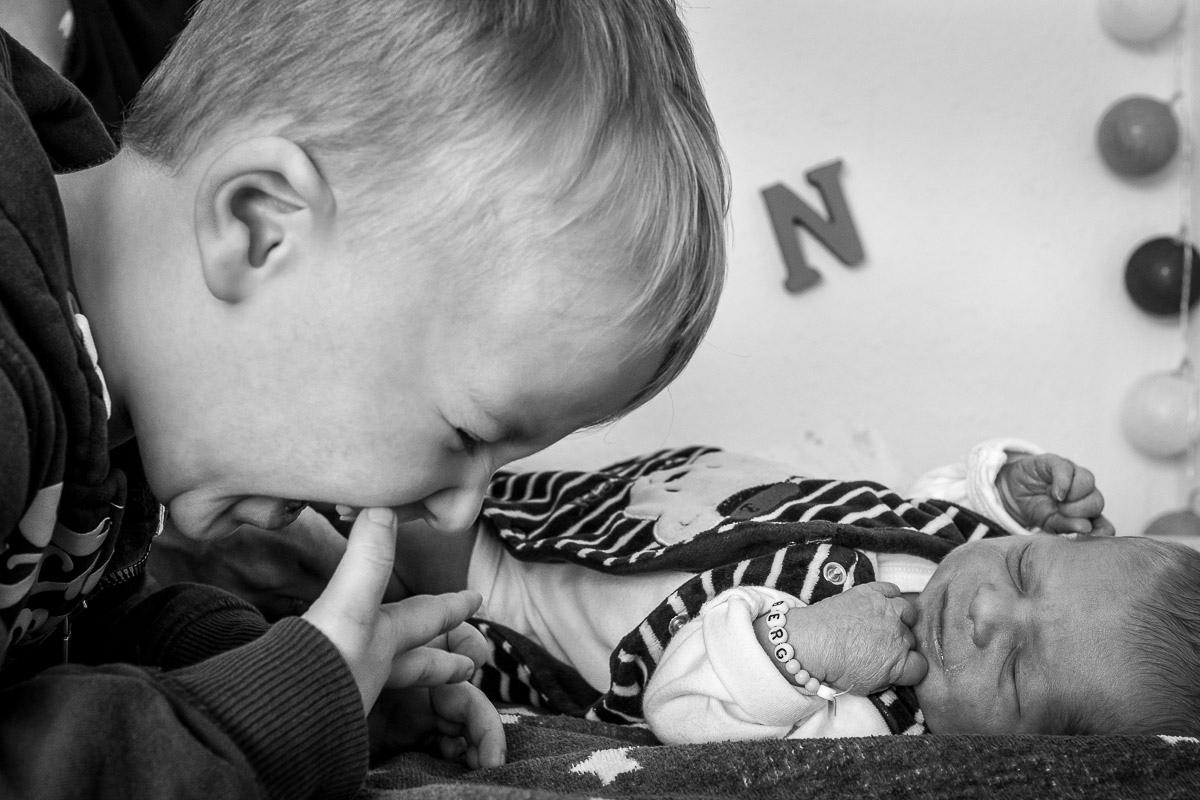 Neugeborene erster Tag Familienfotos