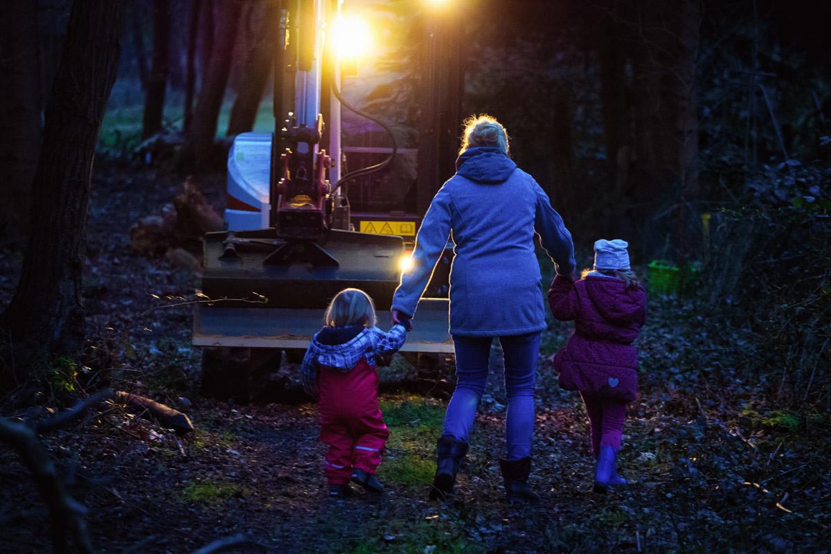 Ausflug mit Kind und Hund Kinderfotografin