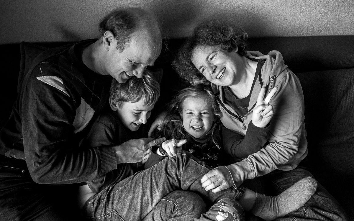 Familienfotos für Krebspatienten