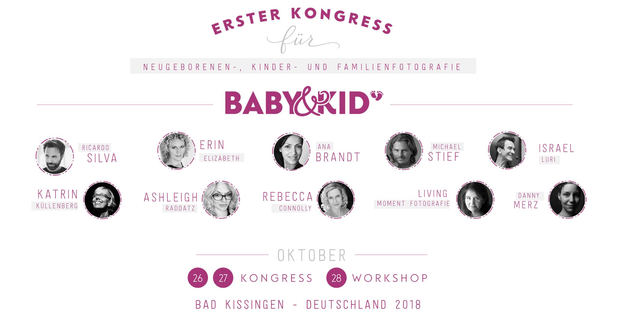 Vortrag auf dem Baby & Kid Kongress 2018
