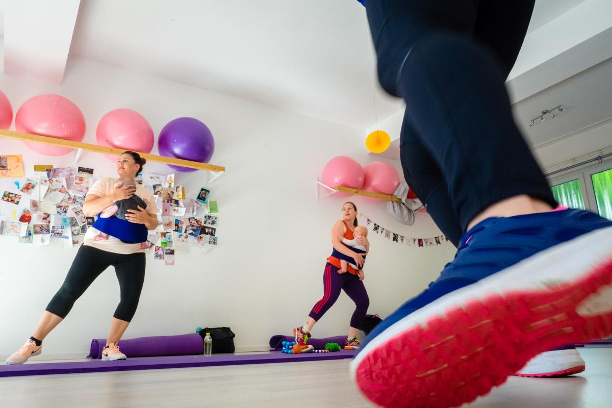 Rückbildungsgymnastik mit Baby Solingen