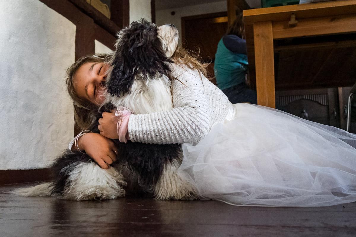 Familienfotos mit Hund Duesseldorf