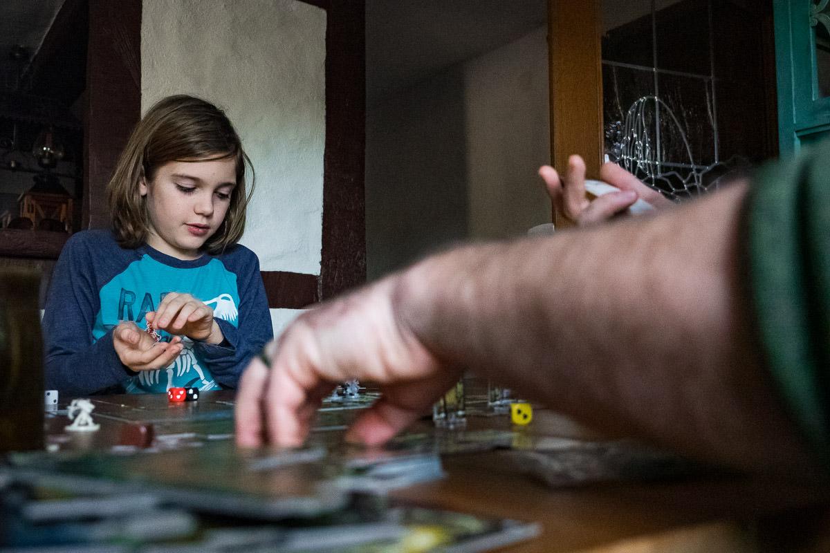 Familienreportage Spielen mit Kindern