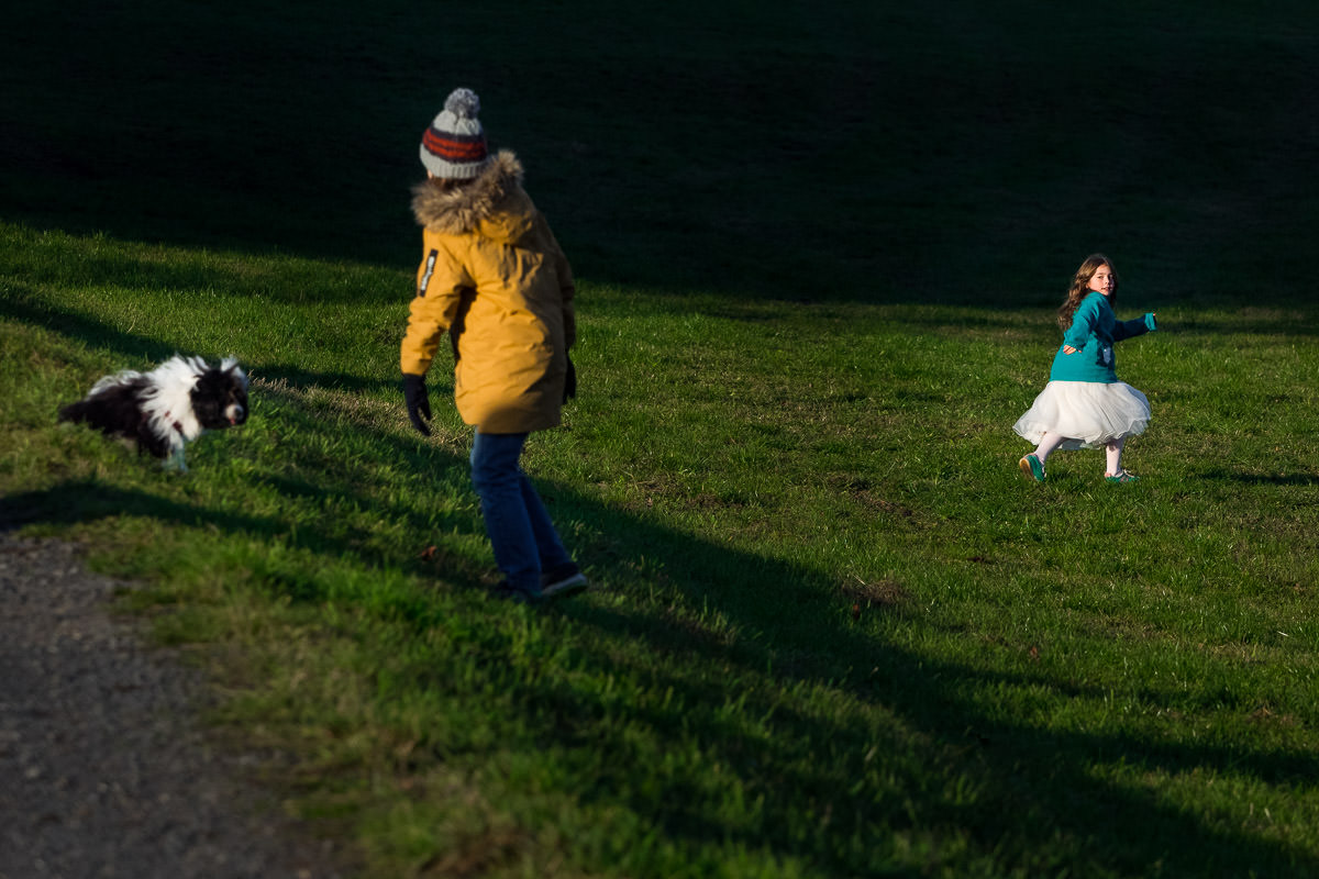Kinderfotos mit Hund Kinderfotograf
