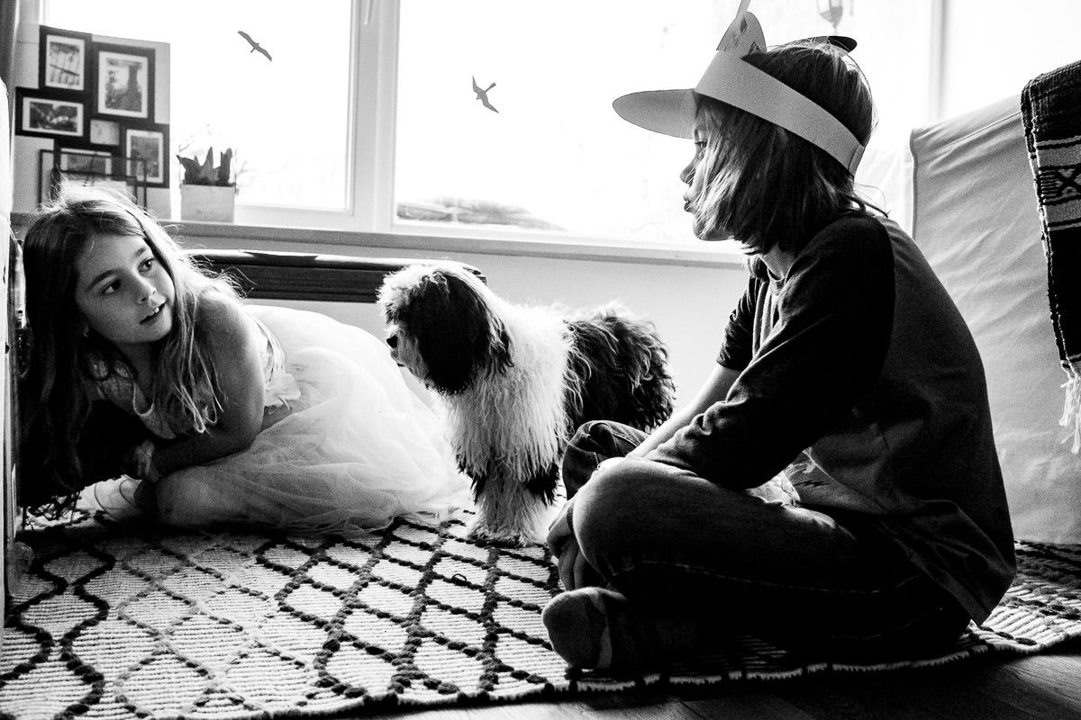 Kinderspiele mit Hund und Tierfotograf Solingen
