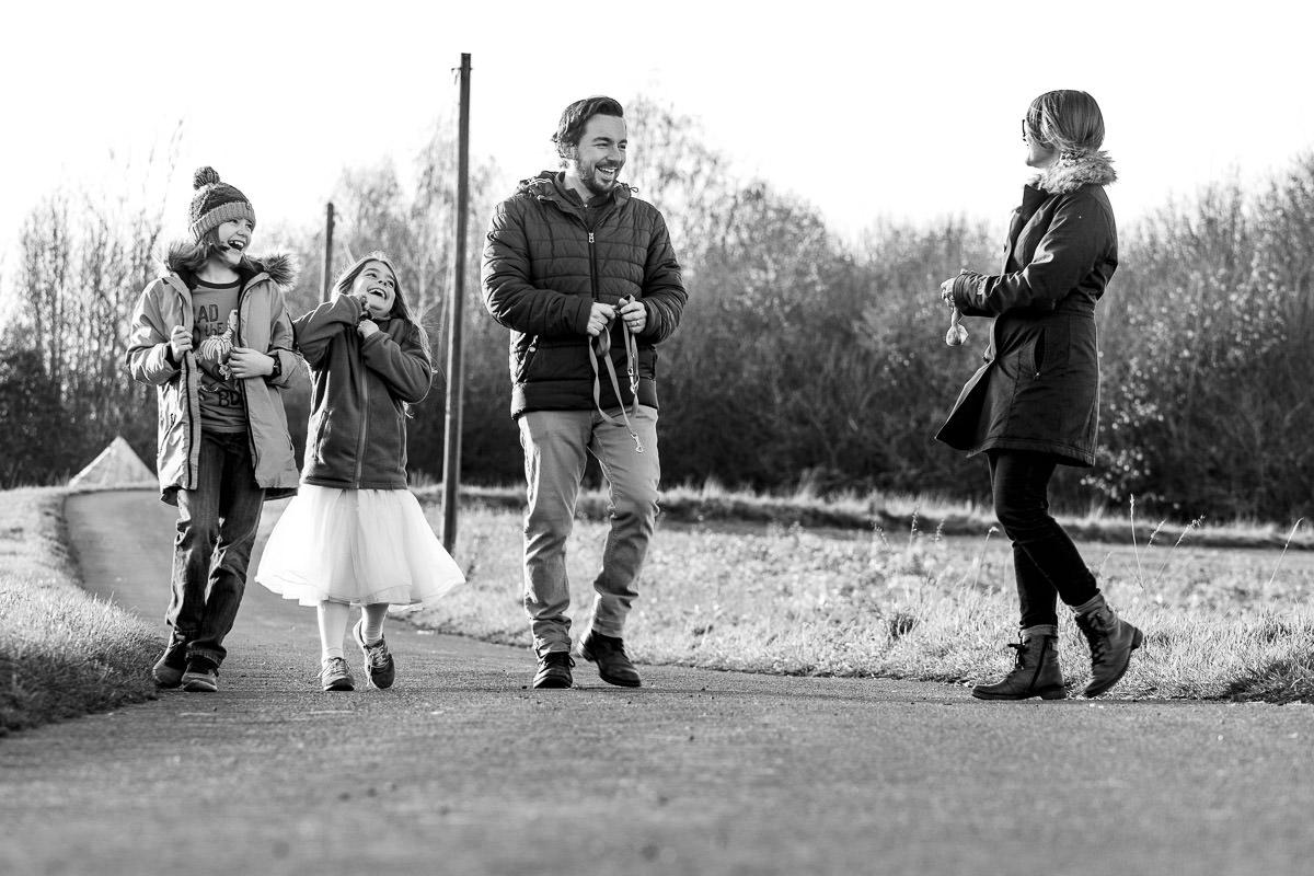 Natürliche Familienfotos Solingen