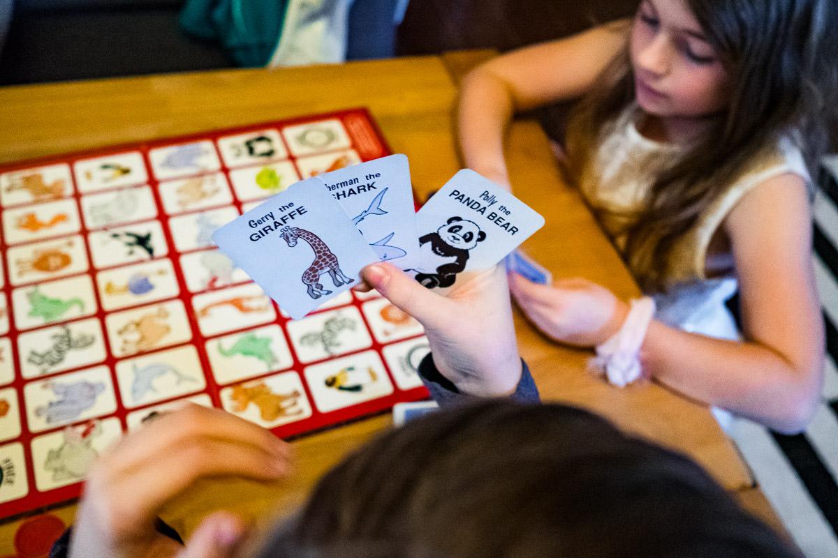 Spieleabend mit Familie und Kinderfotograf Solingen