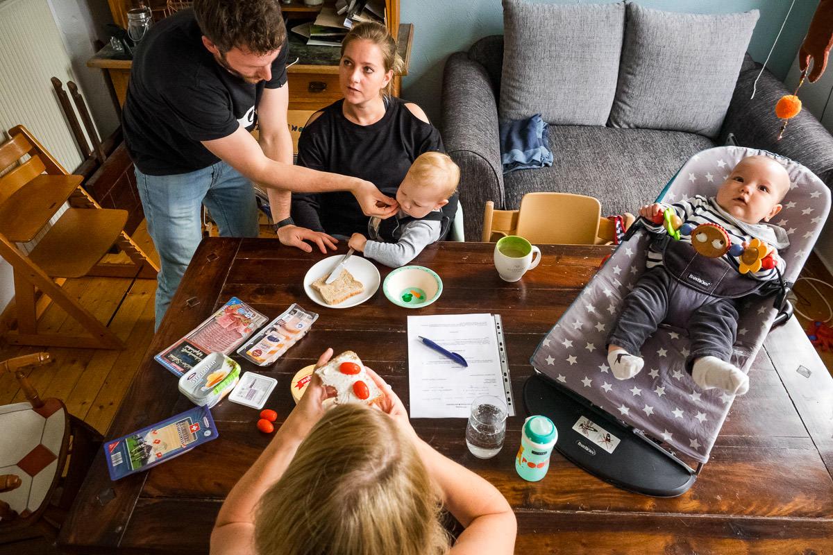 Zwei Familien – ein Zuhause