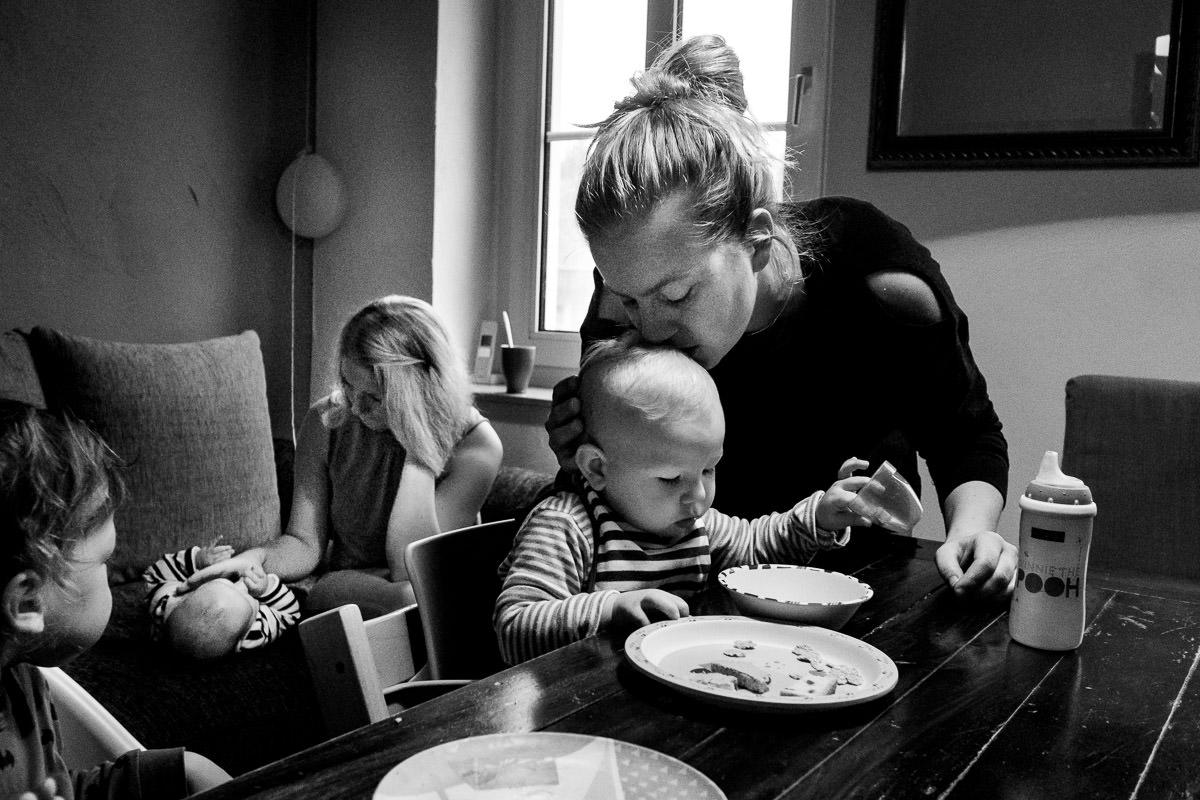 Leben als Grossfamilie Familienfotos Duesseldorf