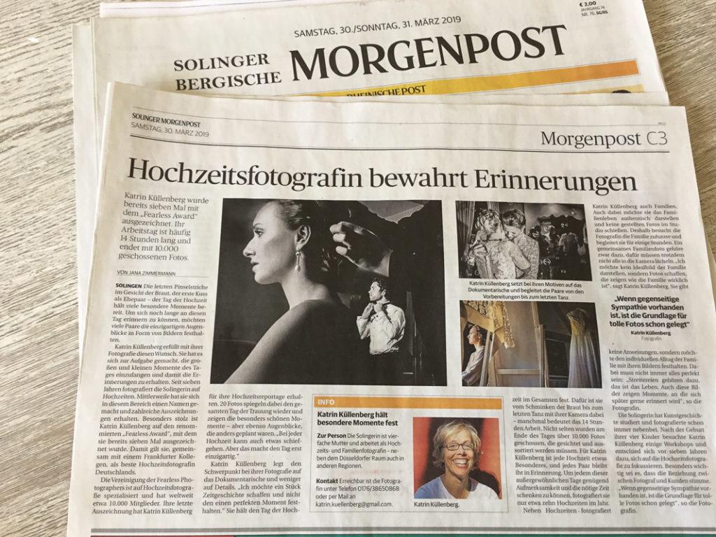 Solinger Morgenpost Dokumentarische Familienfotografin Solingen