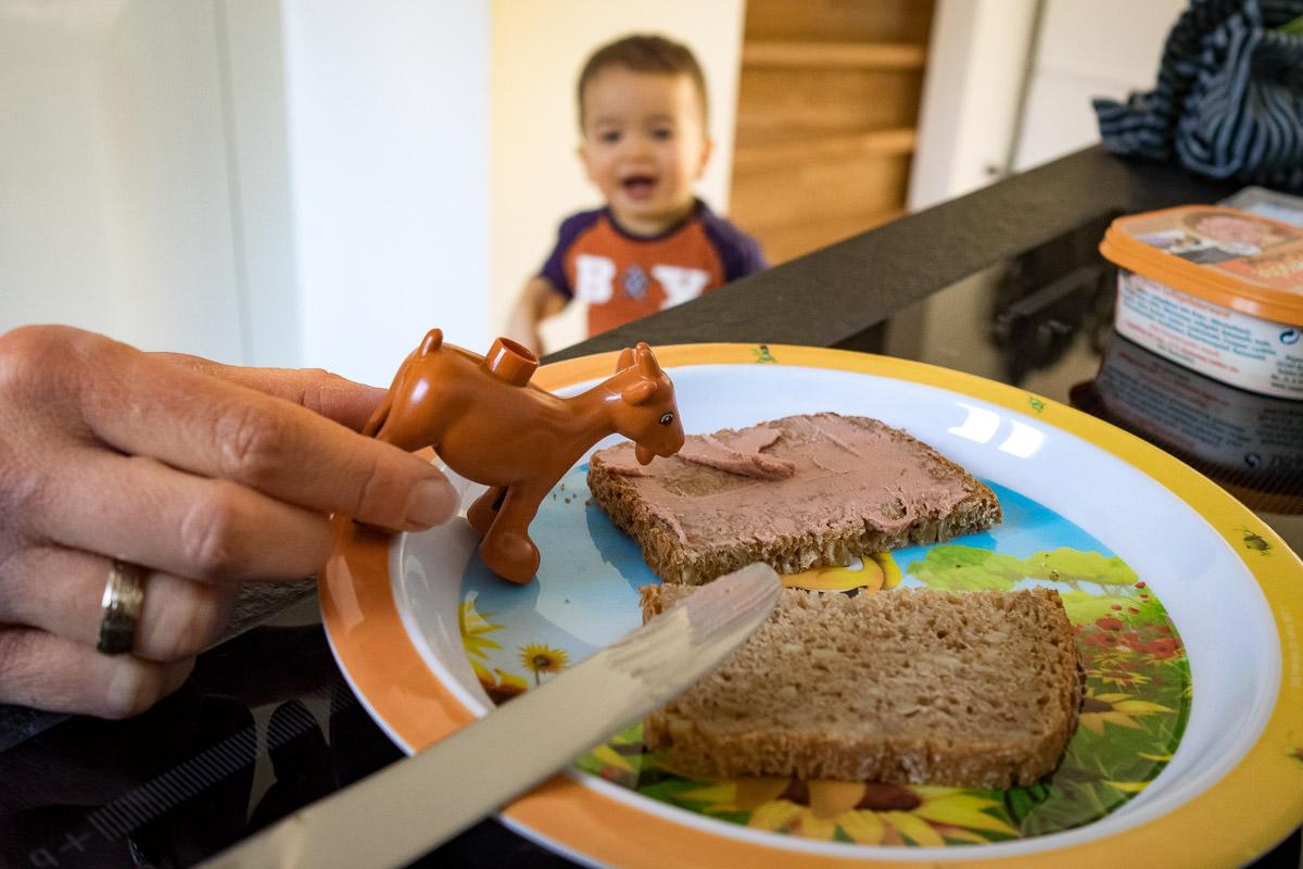 Babyfrühstück Familienfotograf Düsseldorf