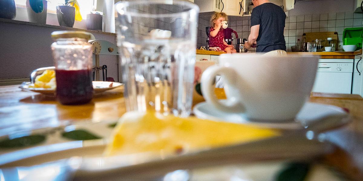 Der perfekte Kaffee mit Papa