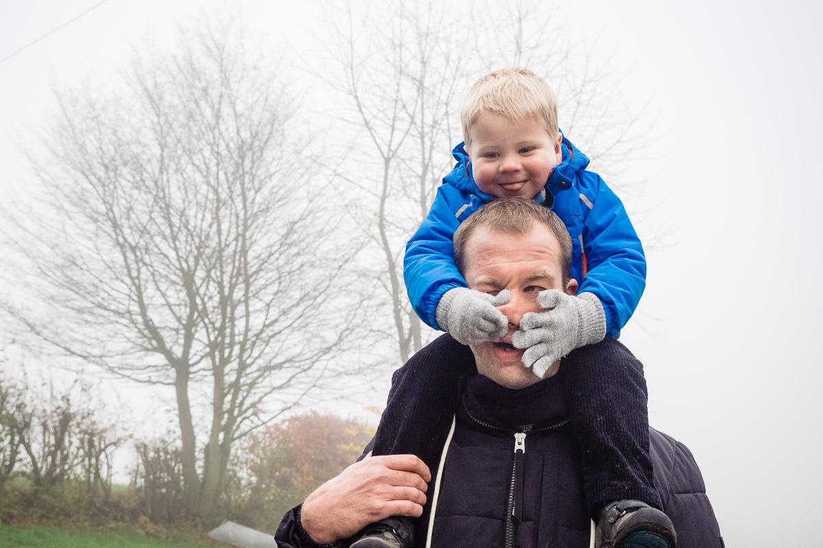 Spass mit Papa Familienfotoshooting Solingen