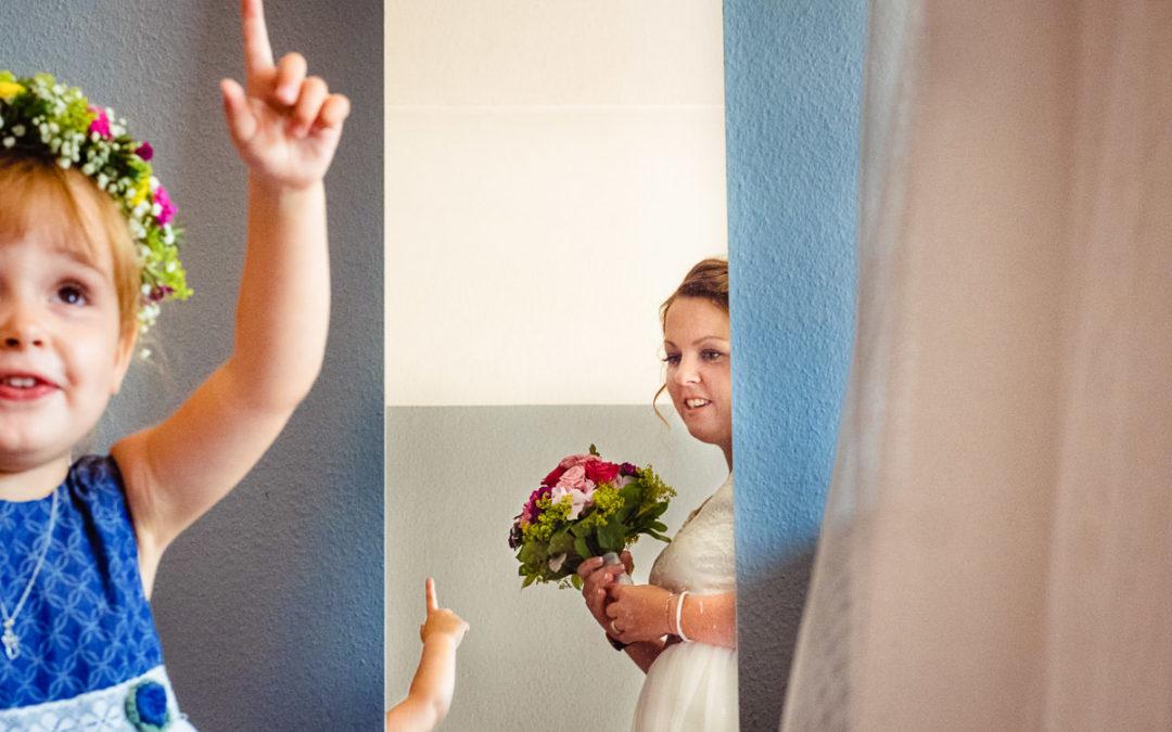 Wie man als Familienfotograf Hochzeiten fotografiert.