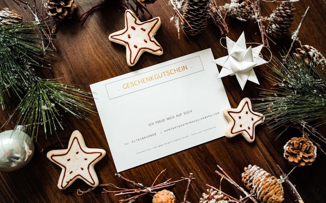 Schenkt Euch zu Weihnachten die schönsten Erinnerungen!