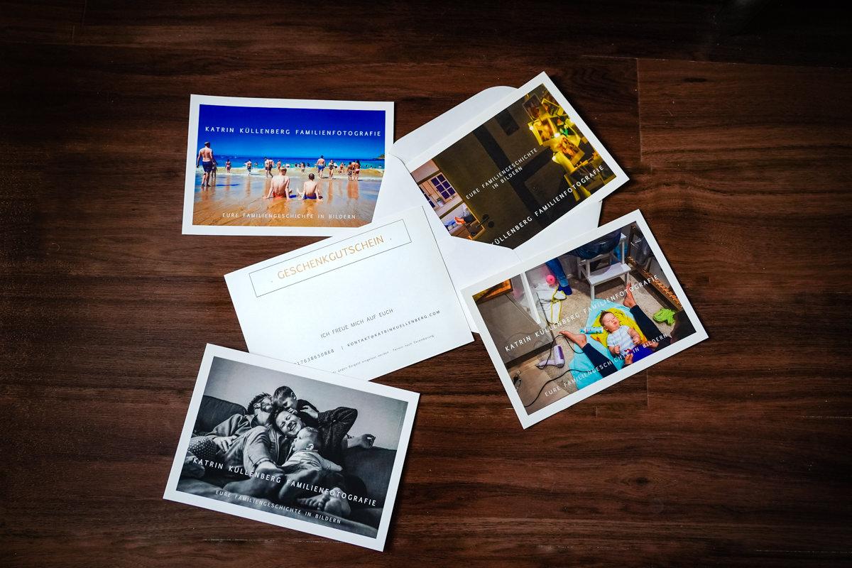 Geschenkgutscheine für Familienfotos Katrin Kuellenberg Solingen
