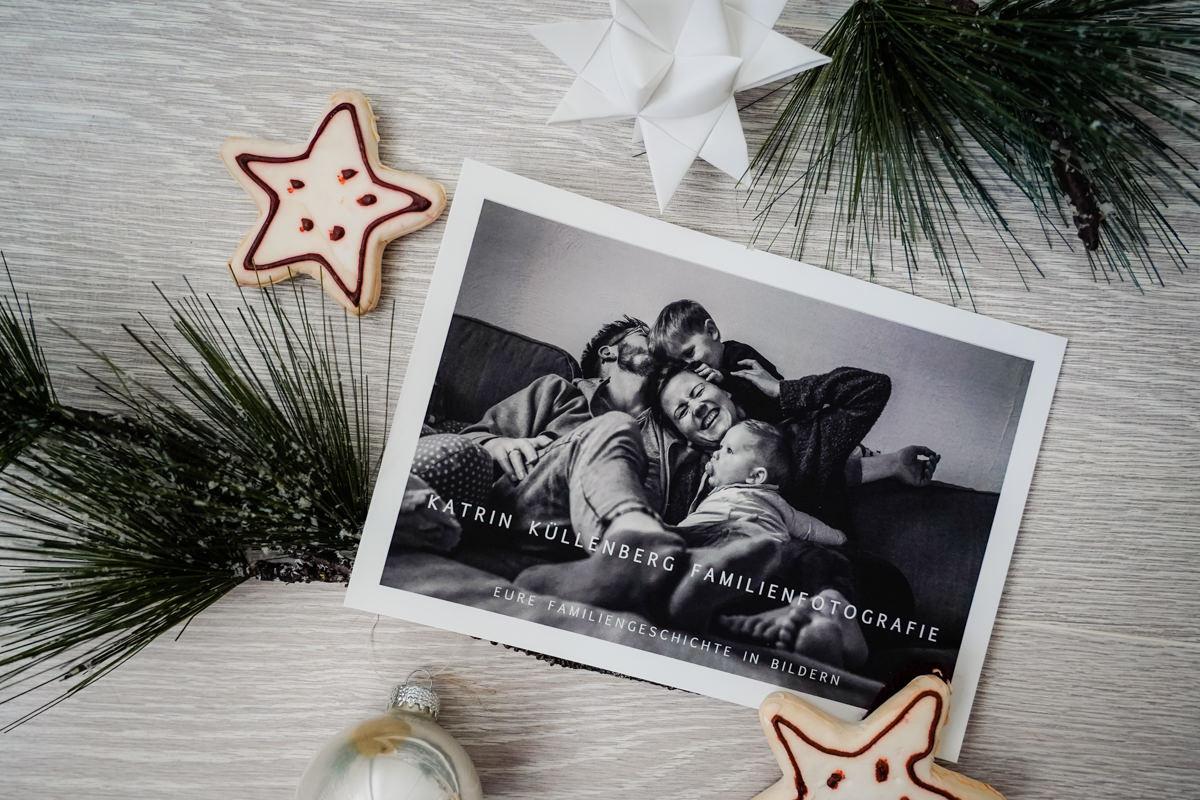 Weihnachtsgutschein für Familienfotos Katrin Kuellenberg Solingen