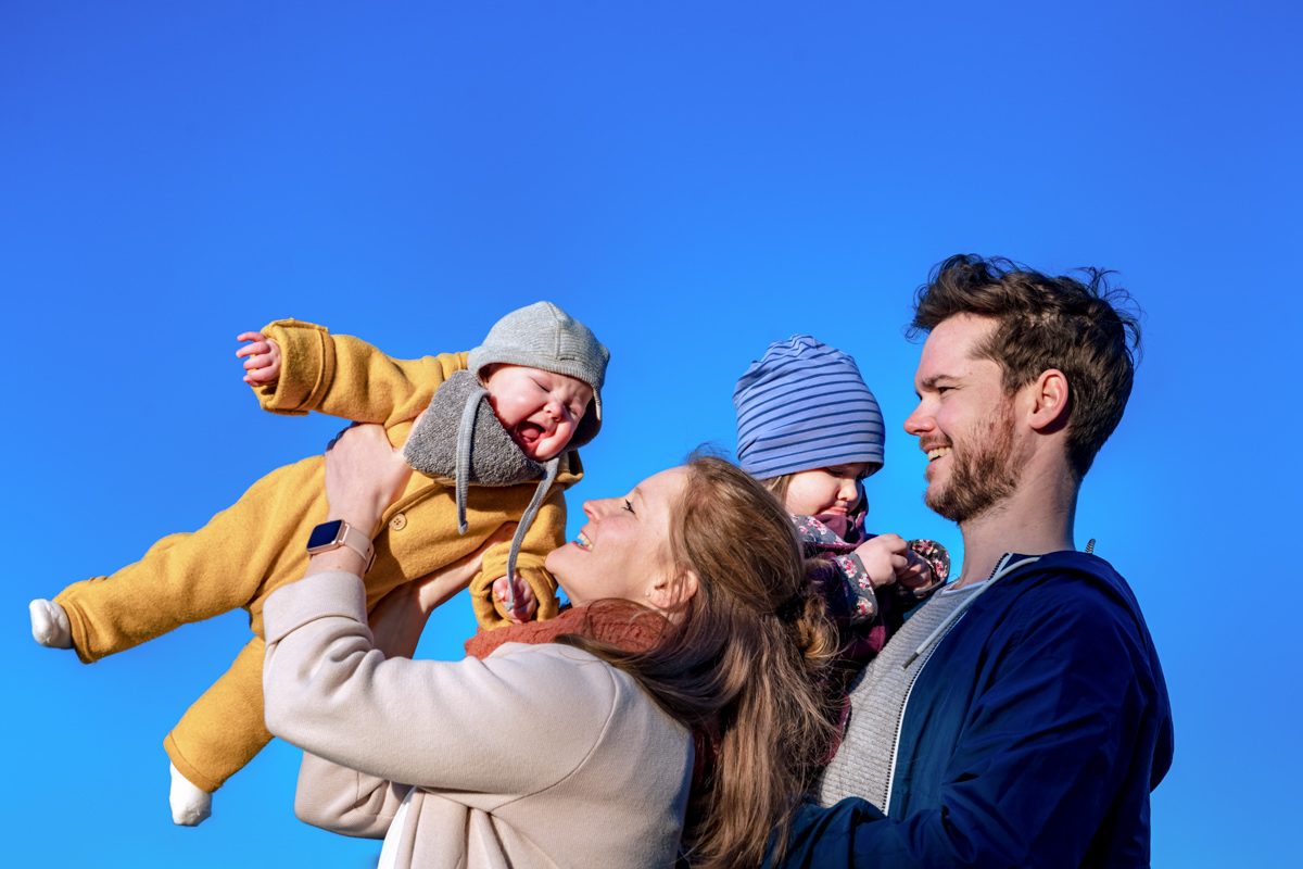 Familienfotoshooting Solingen mit Familienfotograf Solingen